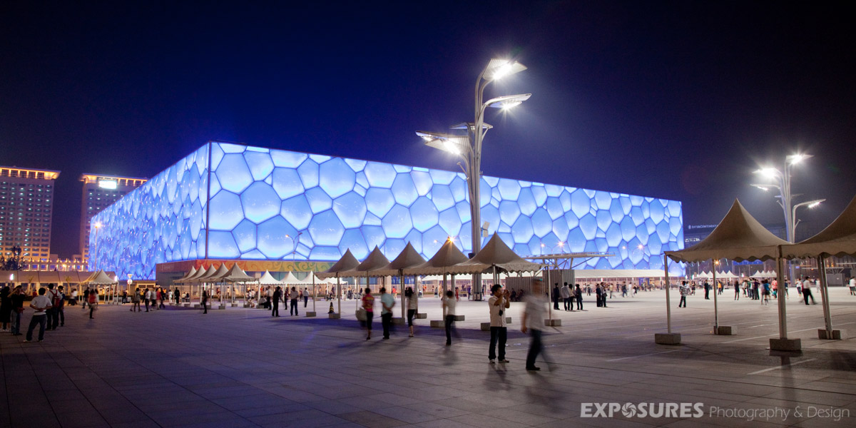 Beijing Olympic Watercube (China) - PTW Architects