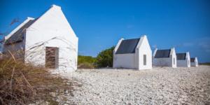 Slave huts in Witte Pan, Bonaire