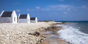 Slave huts in Witte Pan, Bonaire