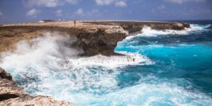 Blow Hole. Washington Slagbaai National Park, Bonaire
