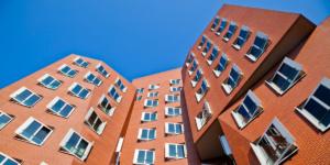 Neuer Zollhof Dusseldorf (germany) Frank Gehry