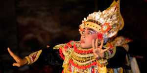 Balinese dancer, Baris Dance