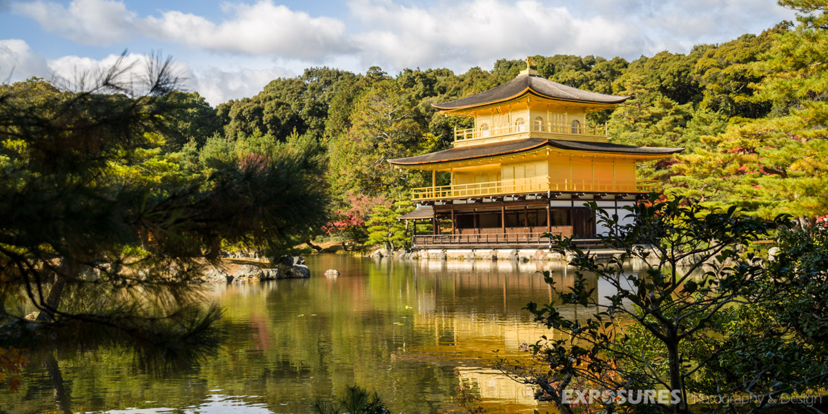 "Kinkaku-ji 金閣寺,  (""Temple of the Golden Pavilion""), Kyoto"