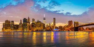 New York, Skyline by Night