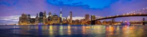 New York, Skyline panorama
