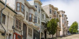 Sloped San Francisco street