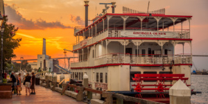 Georgia Queen Riverboat, Savannah