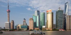 Shanghai, Huangpu River, Skyline