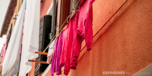 Matching colors House and Laundry - Burano