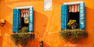 Bright colors Burano