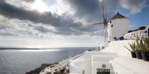 Windmill Oia, Santorini / Thira Greece