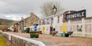 "Cromdale ""old station"", Speyside way - Scotland"