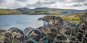 Lobster Traps, Isle of Skye, Scotland