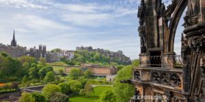 View from Scott Monument, Edinburgh
